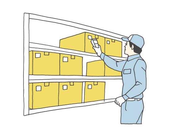 棚卸物流活用分野一覧活用事例自動認識デンソーウェーブ