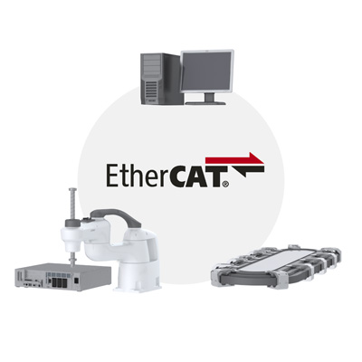 EtherCAT Slave motion