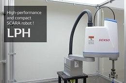 High-performance and compact SCARA robot! LPH